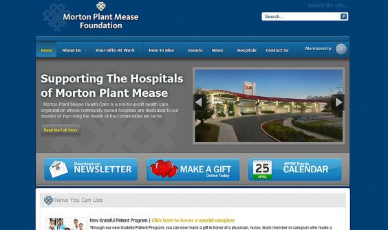 Client | Morton Plant Mease Foundation